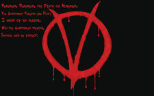 Poster A3 Citas Motivacionales V De Vendetta V For Vendetta Motivational Quotes