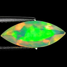 1.38 Ct Natural Ethiopian Faceted Opal Gemstone Multi Color Marquise Cut