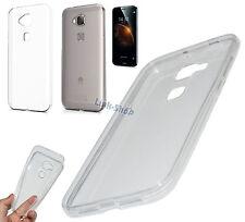 Cover Ultra Fina  Custodia Silicone TPU Trasparente per Huawei G8 GX8 Pellicola