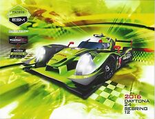 2016 IMSA 12 Hours of Sebring WINNER ESM Extreme Speed  Hero Card Le Mans
