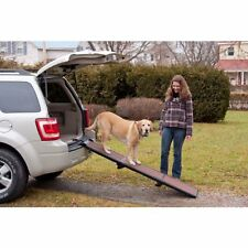 Pet Gear Lightweight Portable Travel Folding Ramp for Dogs Cats up to 200 lb New