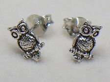 925 Silver Earring Ear Stud Cartilage For Women Teen Helix Owl