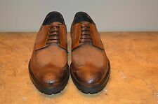 To Boot New York Tan Leather Brogue Wingtip Oxfords Size 13