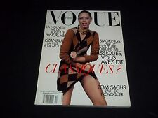 2008 OCTOBER VOGUE PARIS MAGAZINE IN FRENCH - CHRISTY TURLINGTON - D 1388