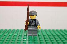 Custom WW2 German Soldier w/Kar98 Rifle    - Lego
