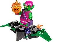 LEGO Marvel Super Heroes Green Goblin with Glider MINIFIG from Lego set #76057