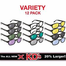 X-KD's Original 12 Variety Pack Biker Glasses Sunglasses As Seen On Sons of Jax