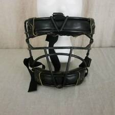 VTG Wilson Catcher  Umpire Face Mask A9916 Heavy Metal Frame Leather Pads