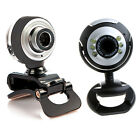 USB 2.0 50.0 Mega HD Webcam Camera Web Cam with Microphone for PC Laptop US