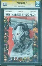 Iron Man 1 CGC SS 9.8 Brandon Peterson War Machine Original art sketch