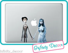 "Adesivo ""Sposa Cadavere""   Mac Book Pro/Air 11/13/15- Stickers corpse bride Mac"
