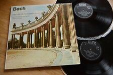BACH 4 Orchestersuiten Kammerorchester  HELMUT KOCH 2LP ETERNA 826 568-569