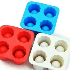 Silicone Shooter Shot Ice Cube Glass Freeze Pudding Cookie Maker Mold DIY Mould
