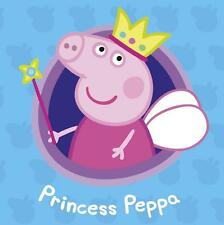 1 LARGE A5 PRINCESS PEPPA PIG IRON ON T SHIRT TRANSFER WHITE/LIGHT FABRICS