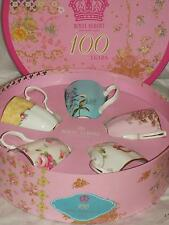 Royal Albert Bone China 100 Years 5 MUG SET 1950`s  - 1990`s New & GIFT BOXED