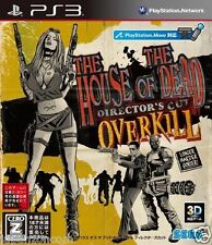 Used PS3 SEGA House of the Dead Overkil SONY PLAYSTATION 3 JAPAN JAPANESE IMPORT