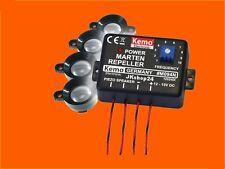 NEU! M094-N MARDERSTOPPER MARDERSCHUTZ MARDER-TIER KFZ/12 V Ultrasonic repeller