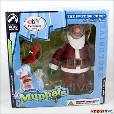 Muppet Show Palisades 2004 eBay exclusive Swedish Chef in Santa Suit box Muppets