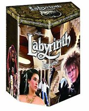 Labyrinth: David Bowie Movie 30th Anniversary Edition Gift Boxed BluRay Set NEW!