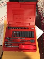 New Snap On 131TMPB with Red Ratcheting Screwdriver