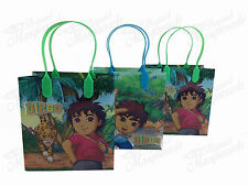 Nickelodeon Go, Diego, Go! Party Favor Supplies Goody Loot Gift Bags [48ct]