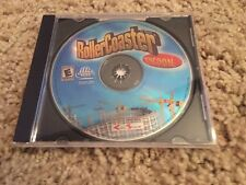 Roller Coaster Tycoon - (PC CD-ROM Game,1999) In Original Jewel Case!
