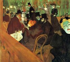 A3 taille dans le bar du moulin rouge by toulouse lautrec poster impression photo