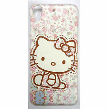 Sweet Kitty Print Diamond Work Hard Case Cover for HTC Desire 626, 626S, 626G