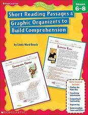 Short Reading Passages & Graphic Organizers to Build Comprehension: Grades 6-8 -
