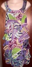 Signature by Bobbie Bee Dress, 4-6 P, Pretty Print, Worn Once, Free Ship!