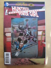 HUNTRESS POWER GIRL 1 :FUTURES END 1-SHOT.3D LENTICULAR COVER.DC The NEW 52.2014