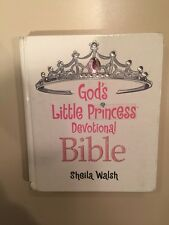 God's Little Princess Devotional Bible (2006, Hardcover) By Sheila Walsh USED
