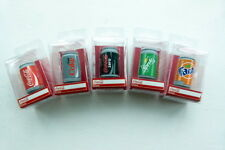 Pack of 5 Novelty 3D Coca Cola Can Drink Eraser in Box (5 pieces)