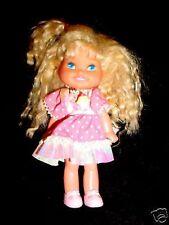 6.5-Little 1988 Mattel Cupcake Doll-Cherry Merry Muffin