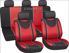 Funda del asiento fundas para asientos de referencia goleta rojo #9 para peugeot citroen Renault