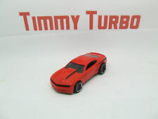 CHEVROLET CAMARO COPO 2013 IN RED  HOT WHEELS