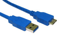 "USB DATA SYNC CABLE LEAD CORD FOR HITACHI TOURO 0S03240 3.5"" DESKTOP HARD DRIVE"