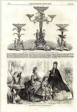1862 Paris Fashions December Sir Andrew Scott Waugh Testimonial
