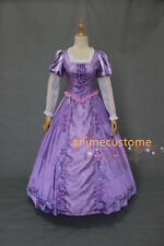 Tangled Costume Adults Princess Rapunzel Dress Halloween Cosplay Outfit