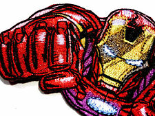 Ironman Iron Man Flying EMBROIDERED PATCH Marvel comics iron/sew on