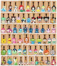 Travel Luggage Tags Labels Strap Name Address Suitcase Bag Disney Cartoon logo