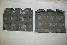 US Military ARMY DIGITAL ACU MOLLE 223 5.56 Tripple 30RD Magazine POUCH Lot of 2