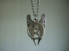 SUPERNATURAL Angel Pentagram Amulet Winchester Dean Sam Pendant Necklace castiel