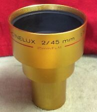 Schneider Super-CINELUX 2/45mm MC  f/2 Super 35mm Movie Projector LENS