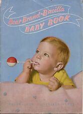 Bear Brand Baby Book Knit Crochet Patterns Layette Butterfly Sacque Coat 1944