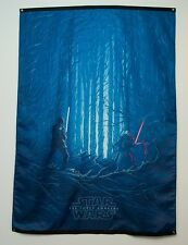 Rare IMAX AMC Star Wars Episode VII Force Awakens Promo Flag Kylo Ren Finn 44x60