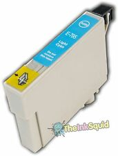 1 Light Cyan Non-OEM T0795 'Owl' Ink Cartridge with Epson Stylus PX810FW