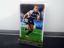 Signed MATTHEW BOWEN Photo & Frame North Queensland Cowboys NRL 2017 Jersey