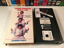 * Young Dragons: The Kung Fu Kid Rare 80's Family Comedy VHS 1986 Chen Shun Yun