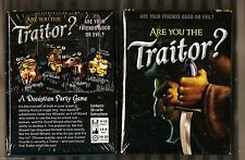 Are You the Traitor? - Board Games LOONEY LABS Factory Sealed . NISB